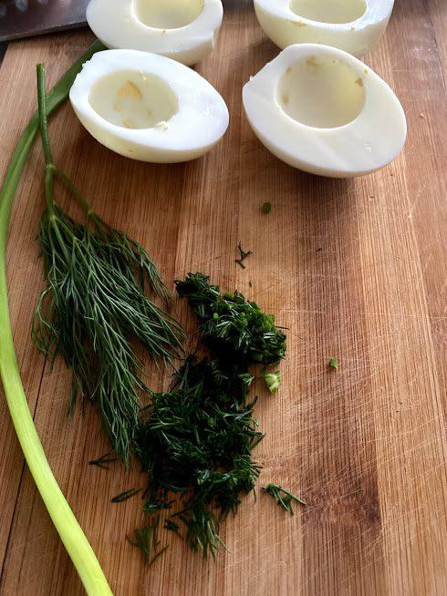 Фото рецепта - Фаршированные яйца - шаг 4