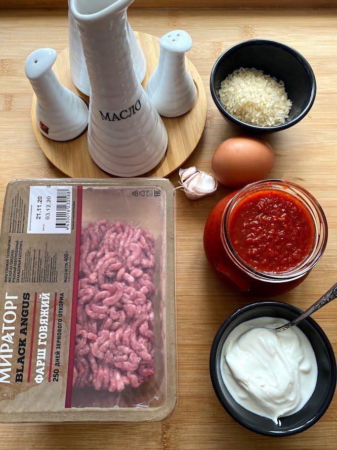 Фото рецепта - Тефтели из говядины в томатном соусе - шаг 1