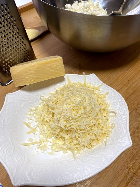 Фото рецепта - Пирог из сыра и спаржи - шаг 2
