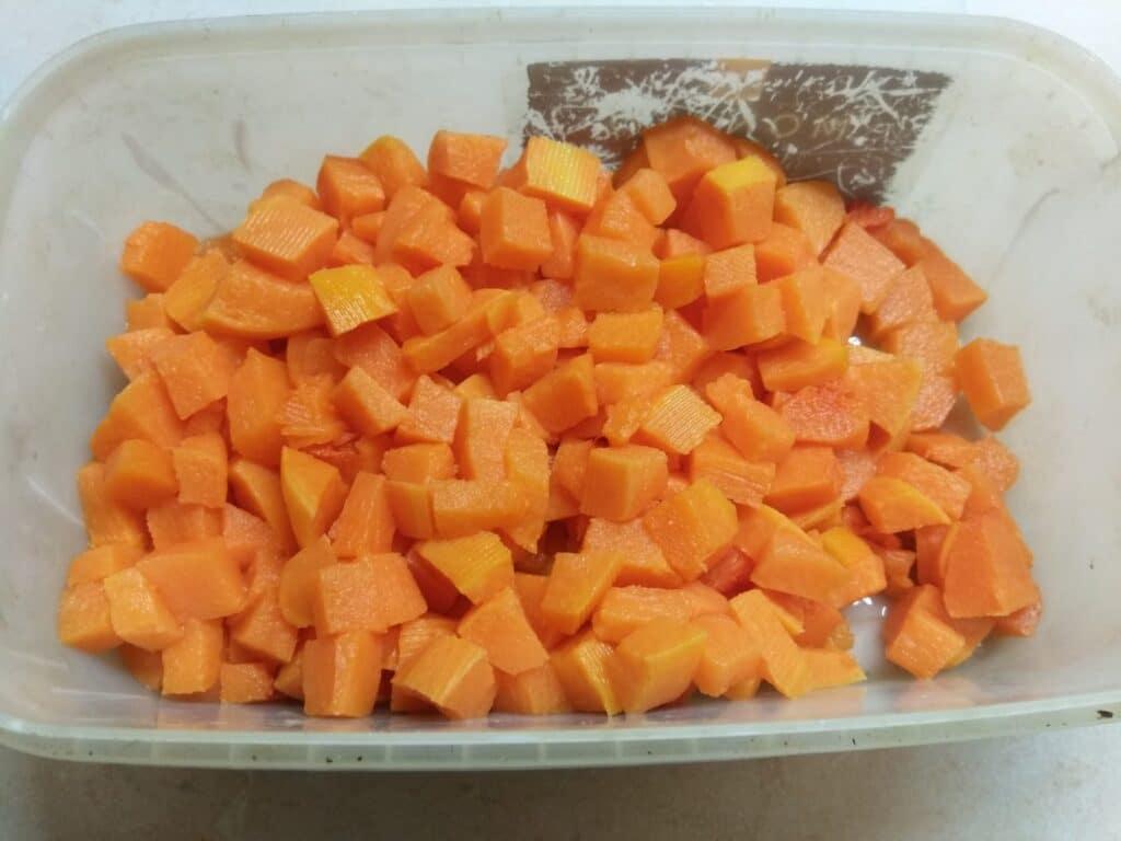 Фото рецепта - Отварные овощи с макаронами - шаг 4