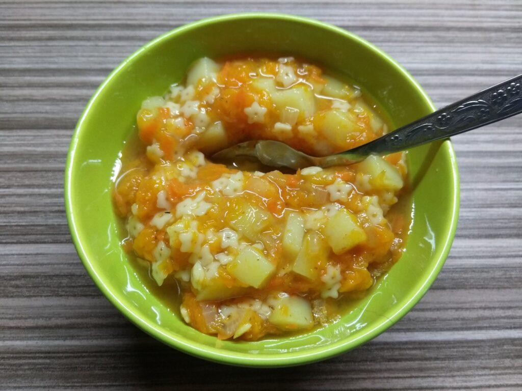Фото рецепта - Отварные овощи с макаронами - шаг 6