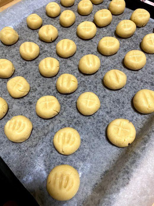 Фото рецепта - Рисовое печенье с кунжутом - шаг 10