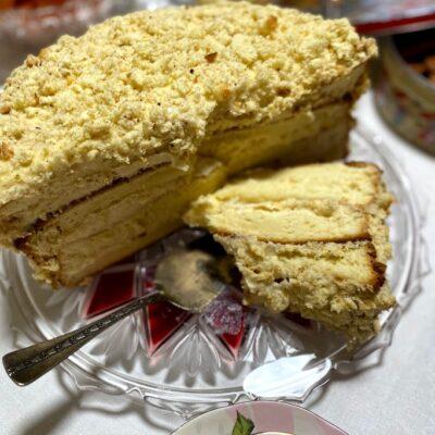 Самый простой бисквит - рецепт с фото