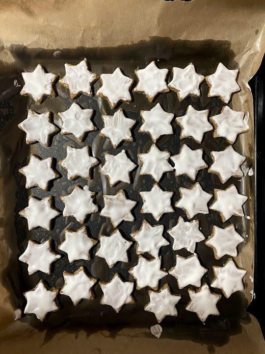 Фото рецепта - Миндальные звезды (печенье) - шаг 14