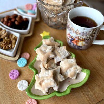 Миндальные звезды (печенье) - рецепт с фото