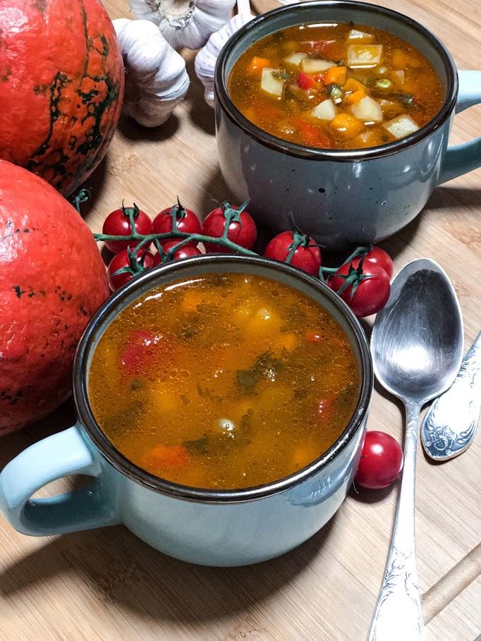 Айнтопф с тыквой (овощной суп)