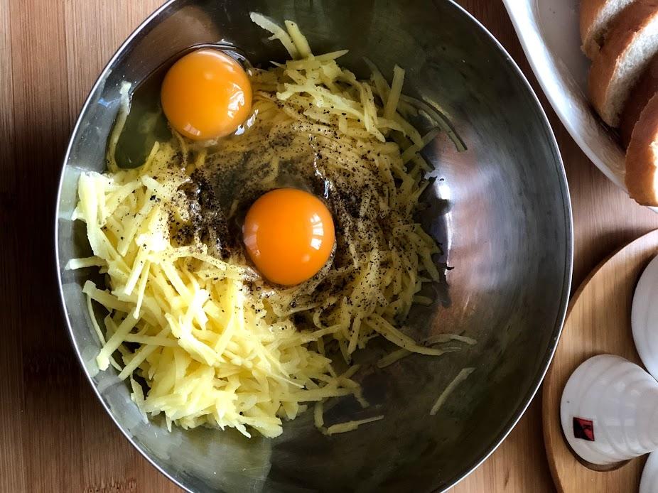 Фото рецепта - Гренки с картофелем - шаг 5