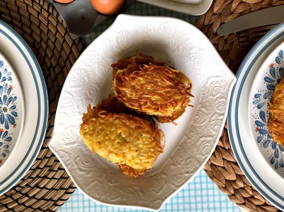 Фото рецепта - Гренки с картофелем - шаг 9