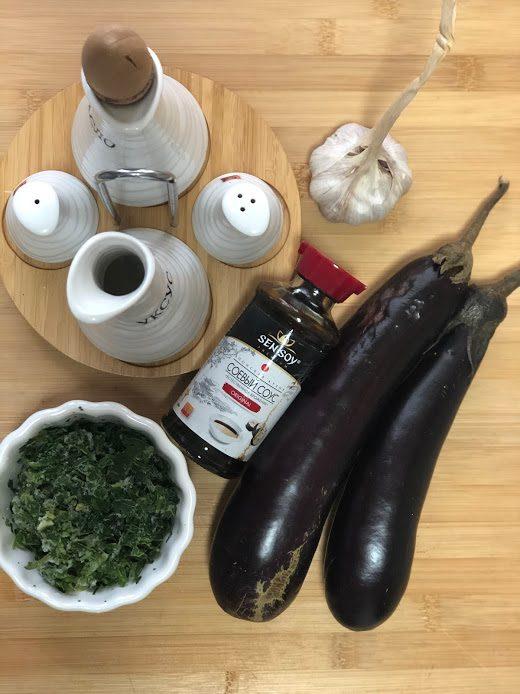 Фото рецепта - Запеченные баклажаны в соевом соусе - шаг 1