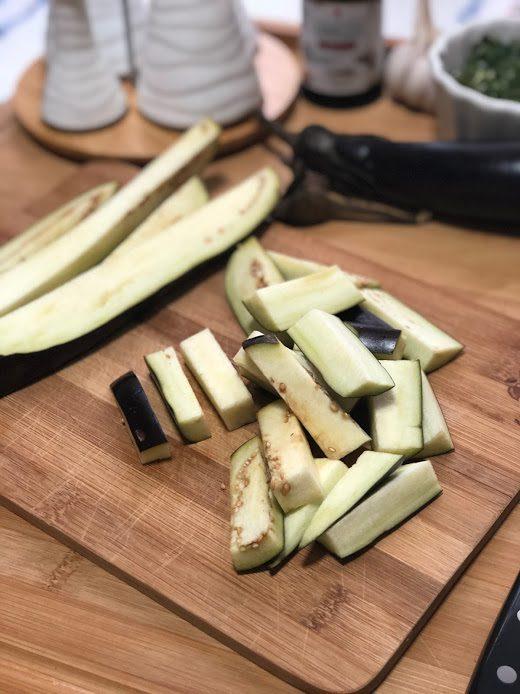 Фото рецепта - Запеченные баклажаны в соевом соусе - шаг 2