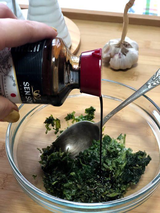 Фото рецепта - Запеченные баклажаны в соевом соусе - шаг 7
