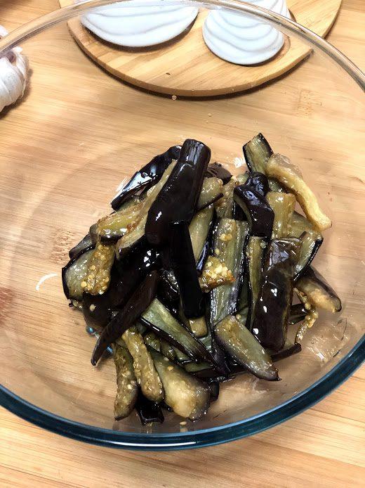 Фото рецепта - Запеченные баклажаны в соевом соусе - шаг 10