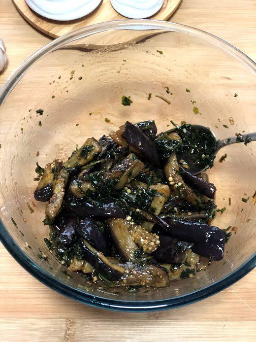 Фото рецепта - Запеченные баклажаны в соевом соусе - шаг 11