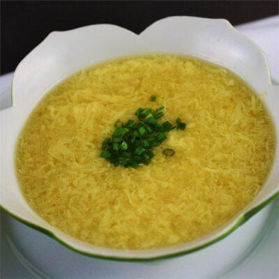 Китайский яичный суп - рецепт с фото