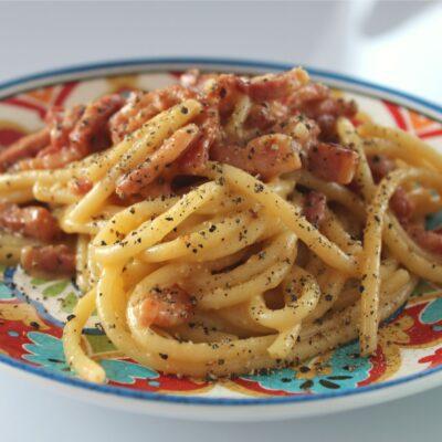 Спагетти Карбонара (итальянский рецепт) - рецепт с фото