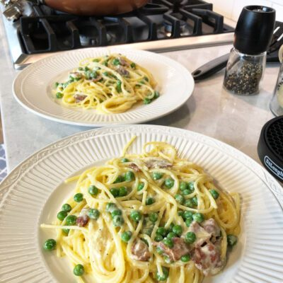 Феттучини Карбонара (паста) - рецепт с фото
