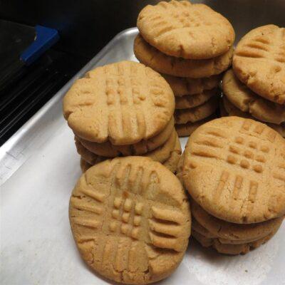 Печенье на арахисовом масле - рецепт с фото