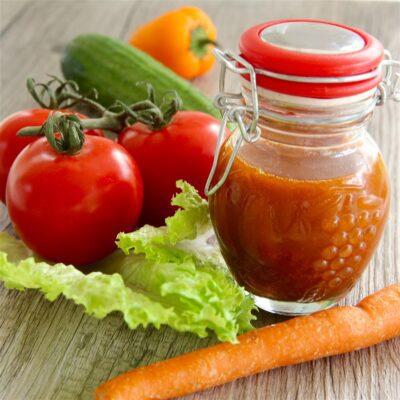 Томатная заправка для овощных салатов - рецепт с фото