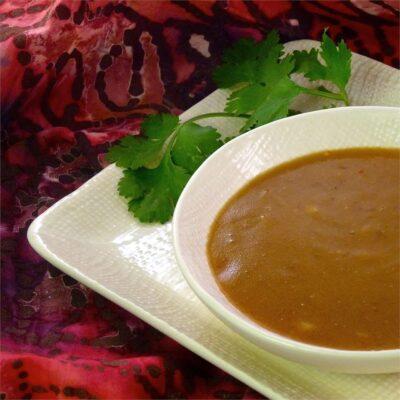 Тайский арахисовый соус - рецепт с фото