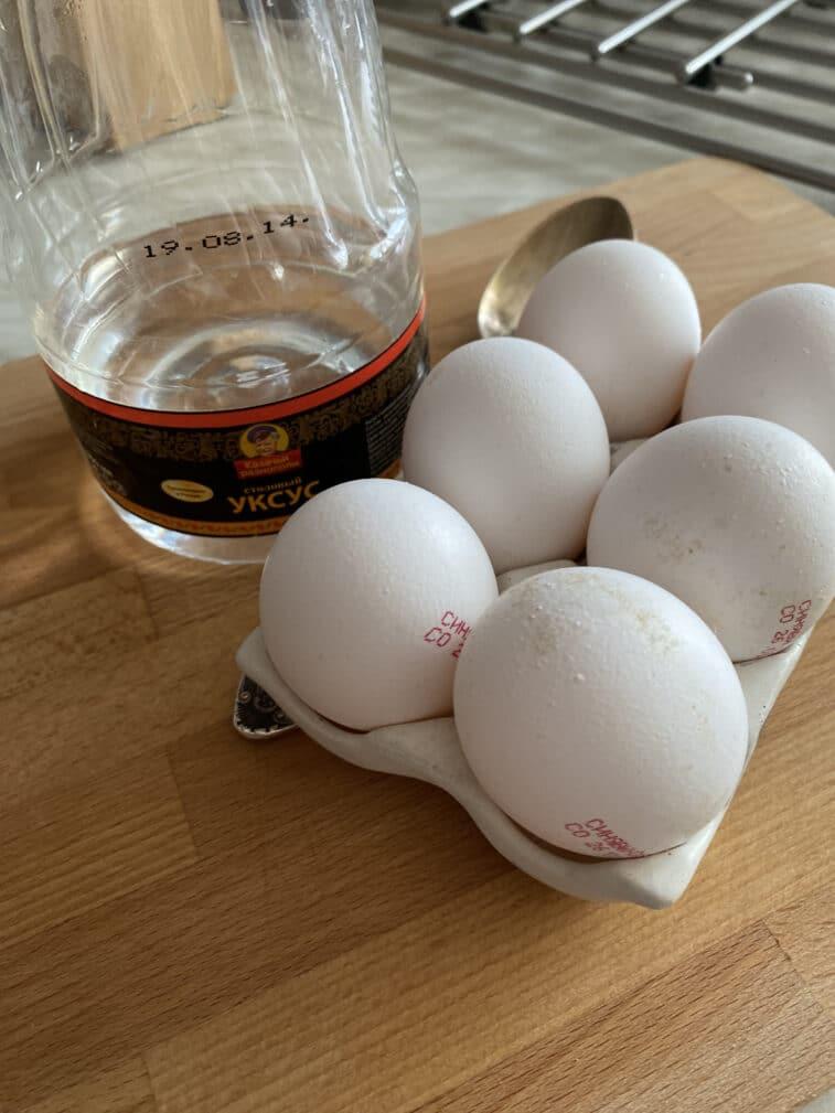 Фото рецепта - Яйцо-пашот - шаг 1