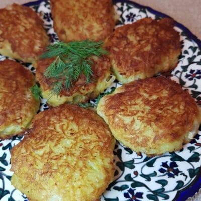Минтай в картофельной панировке (котлеты) - рецепт с фото