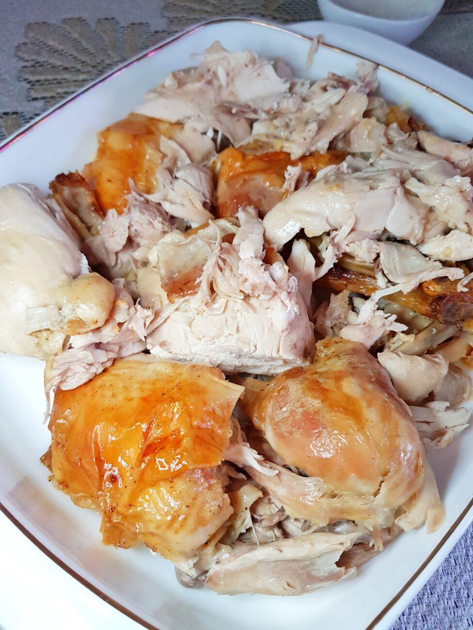 Курица (целая), запеченная в духовке