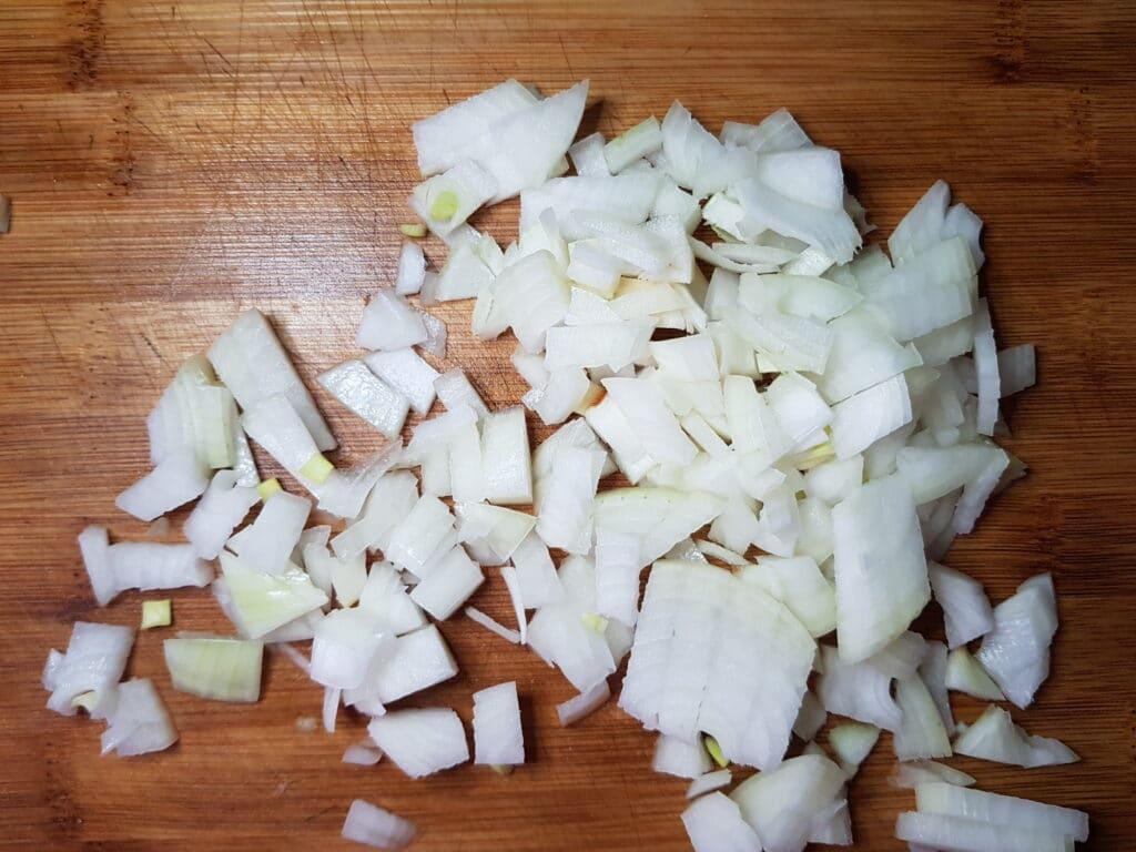 Фото рецепта - Запеканка из картофельного пюре и фарша - шаг 2