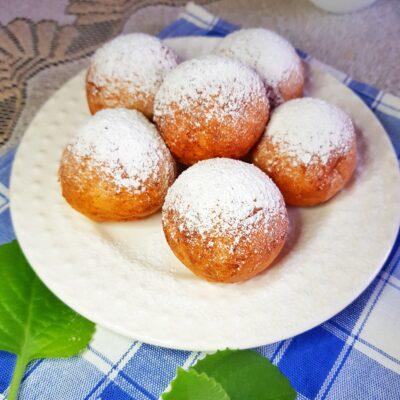 Пончики из творога - рецепт с фото