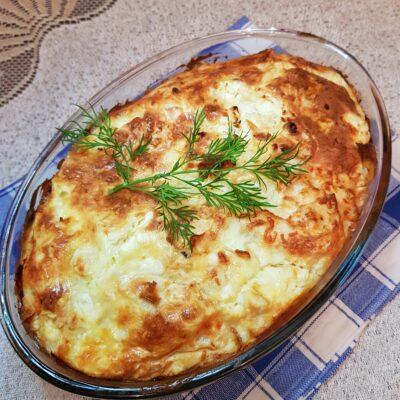 Пирог из лаваша с зеленью и сыром - рецепт с фото