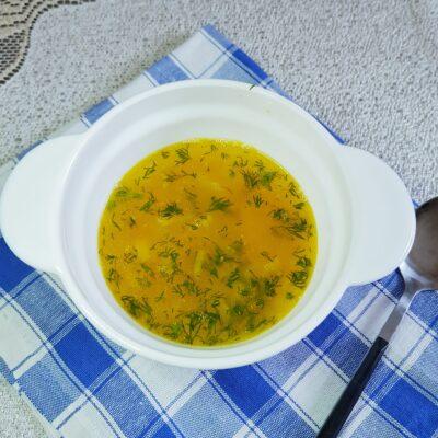 Гороховый суп на мясном бульоне - рецепт с фото