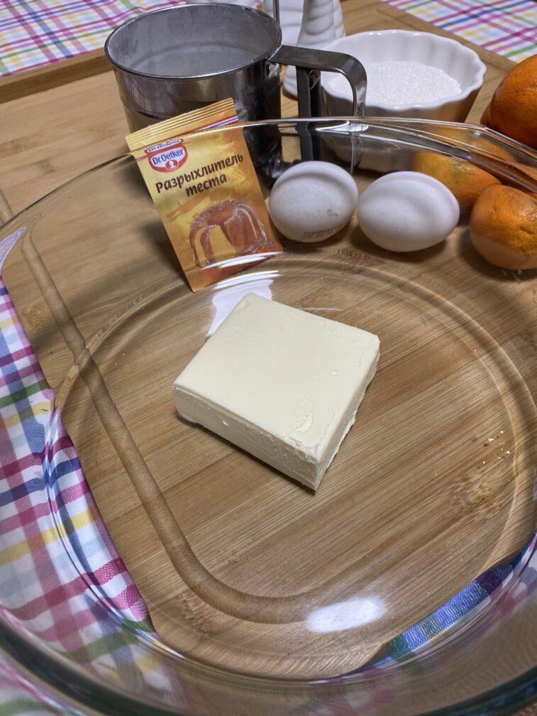Фото рецепта - Мандариновый пирог - шаг 2