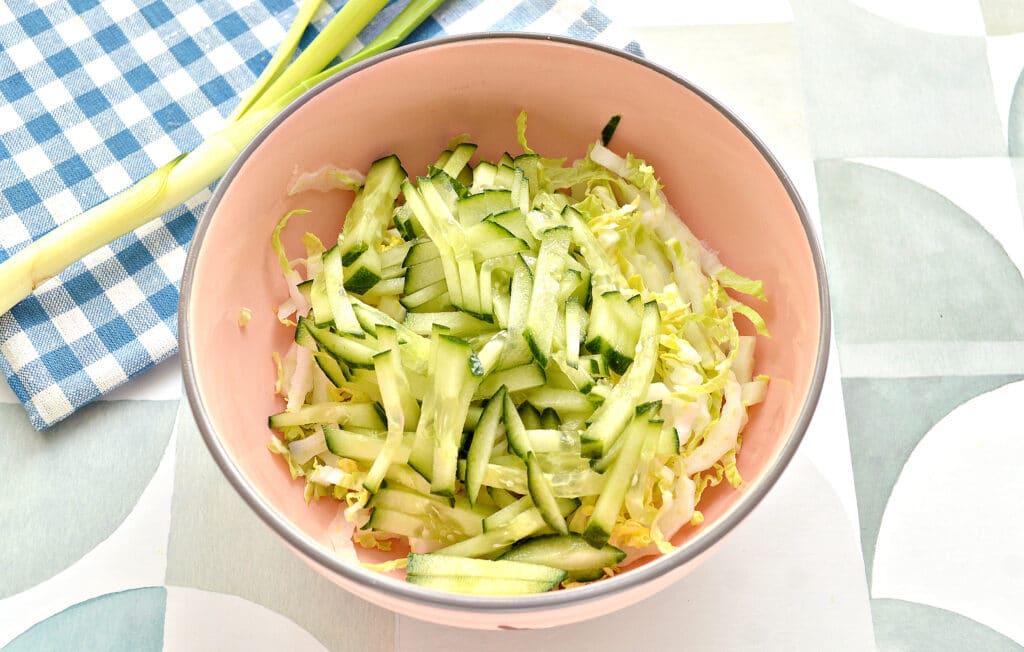 Фото рецепта - Овощной салат к шашлыку и мясным блюдам - шаг 4
