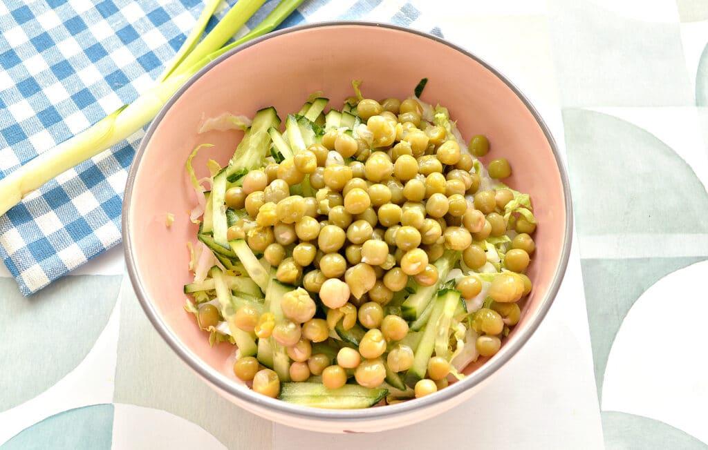 Фото рецепта - Овощной салат к шашлыку и мясным блюдам - шаг 5