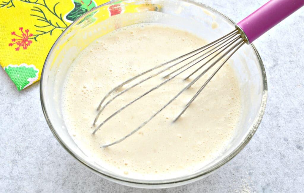 Фото рецепта - Блины на молоке с разрыхлителем - шаг 5