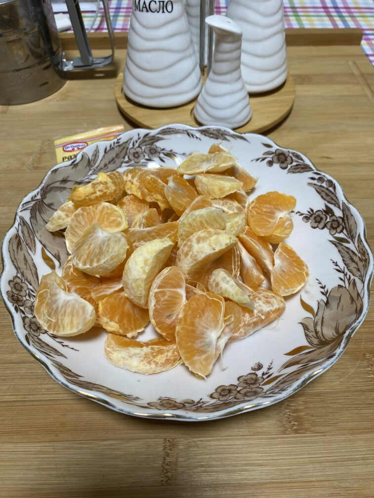 Фото рецепта - Мандариновый пирог - шаг 7