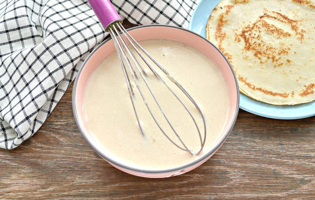 Фото рецепта - Тесто на блины для фаршировки - шаг 6