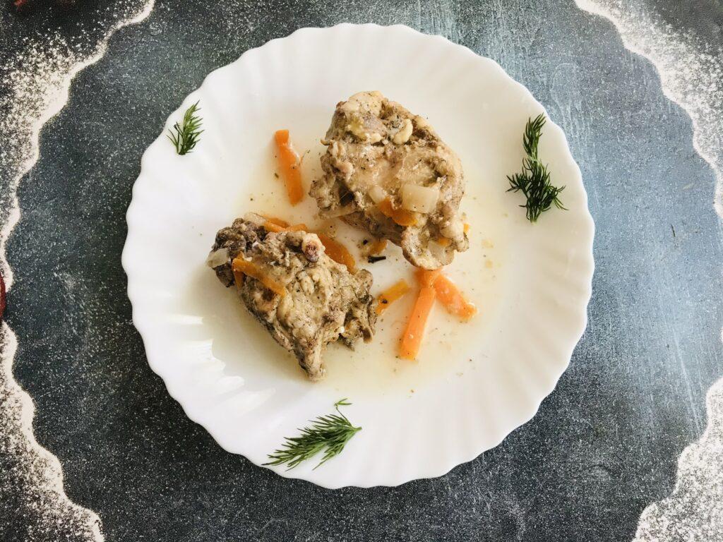 Фото рецепта - Тушёный кролик в мультиварке - шаг 6
