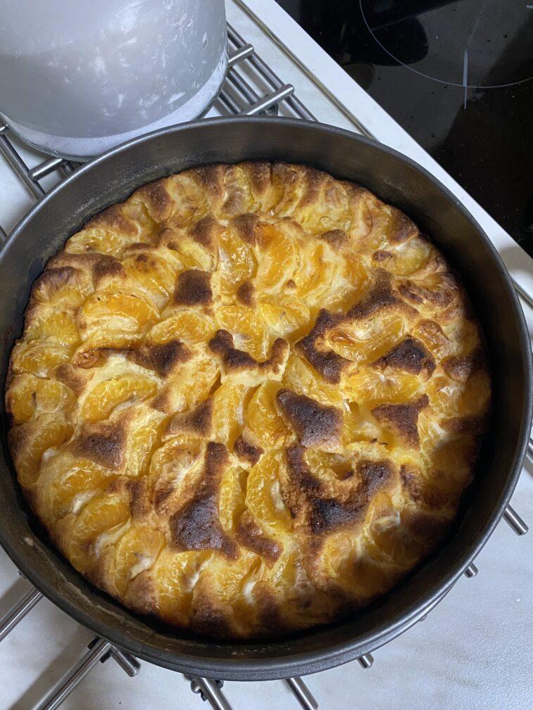 Фото рецепта - Мандариновый пирог - шаг 14