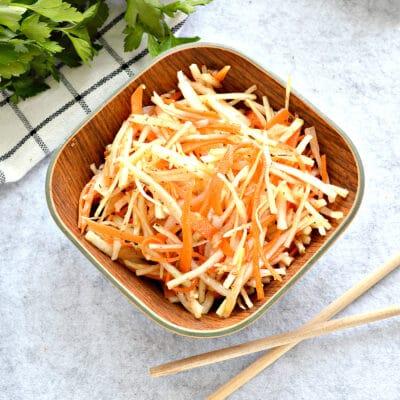 Капустный салат по-корейски - рецепт с фото