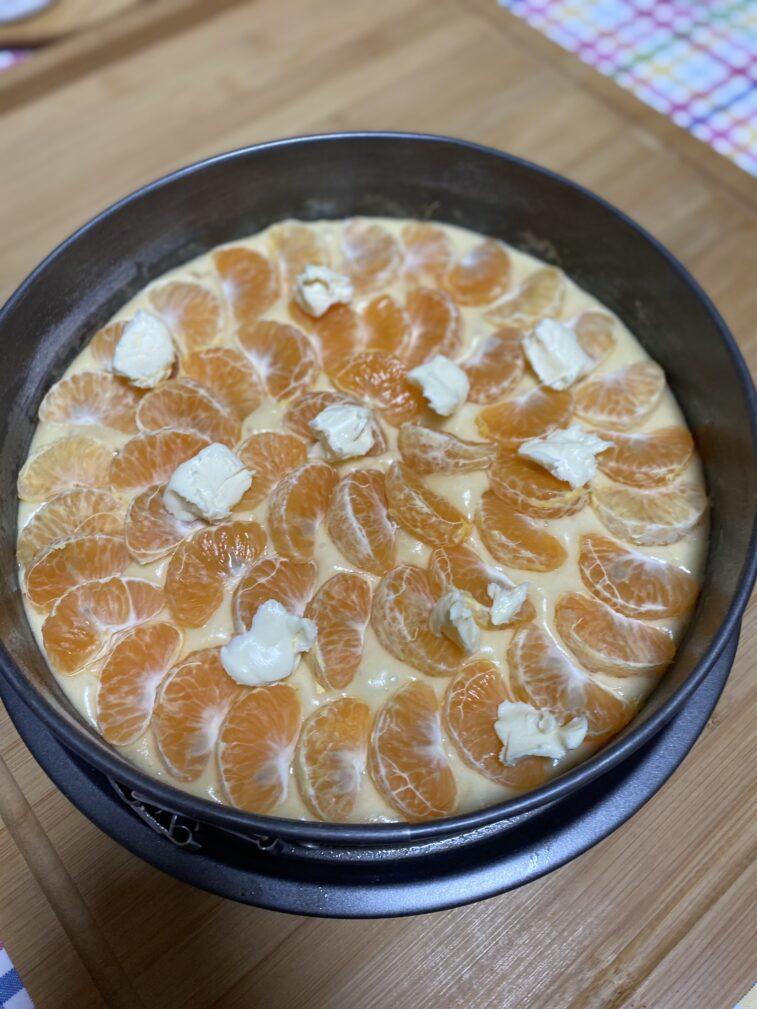 Фото рецепта - Мандариновый пирог - шаг 13
