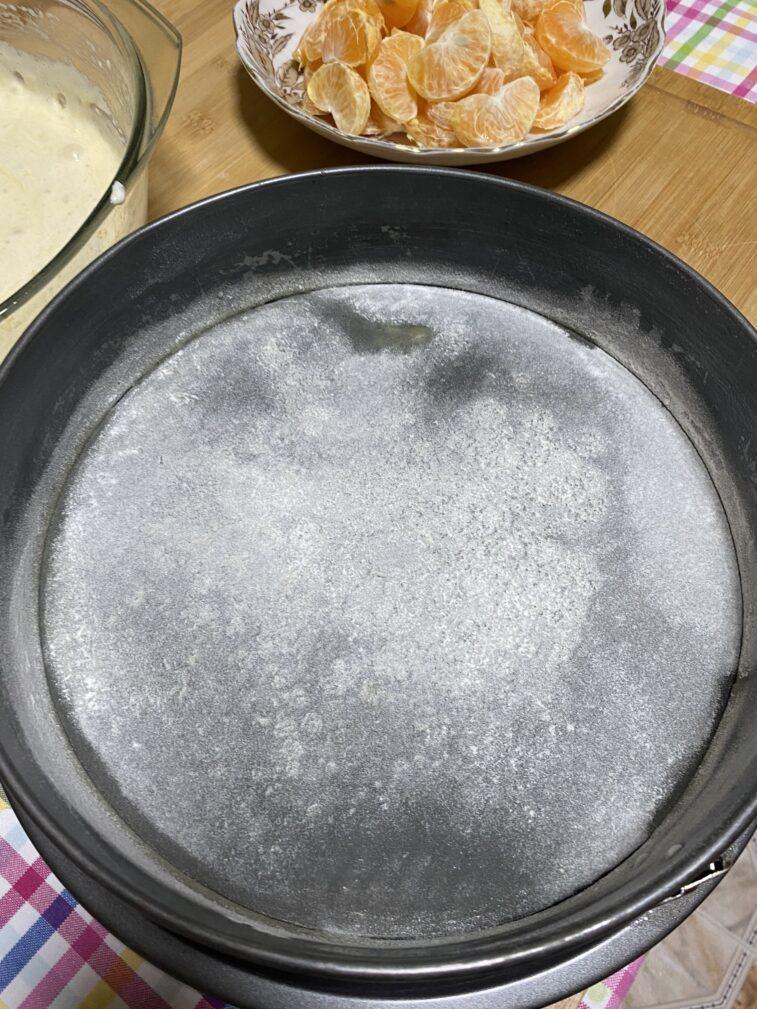 Фото рецепта - Мандариновый пирог - шаг 11