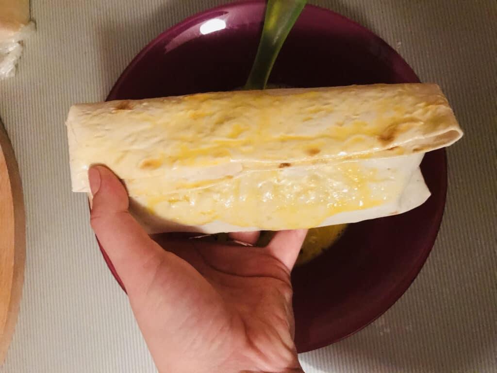 Фото рецепта - Донер с курицей и копченой паприкой - шаг 9