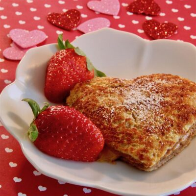 """Французский тост """"С любовью"""" - рецепт с фото"""