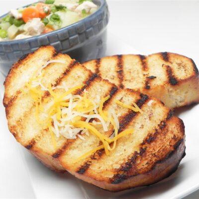 Чесночный хлеб - рецепт с фото