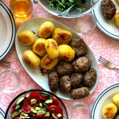 Котлеты из свино-говяжьего фарша - рецепт с фото
