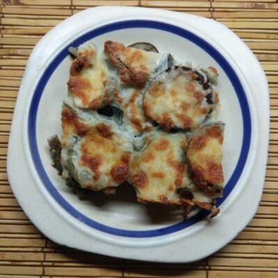 Запеканка из кабачков, баклажанов и салями - рецепт с фото