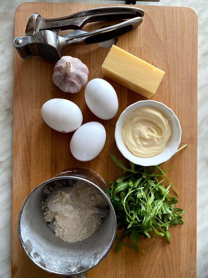 Фото рецепта - Яичный рулет - шаг 1