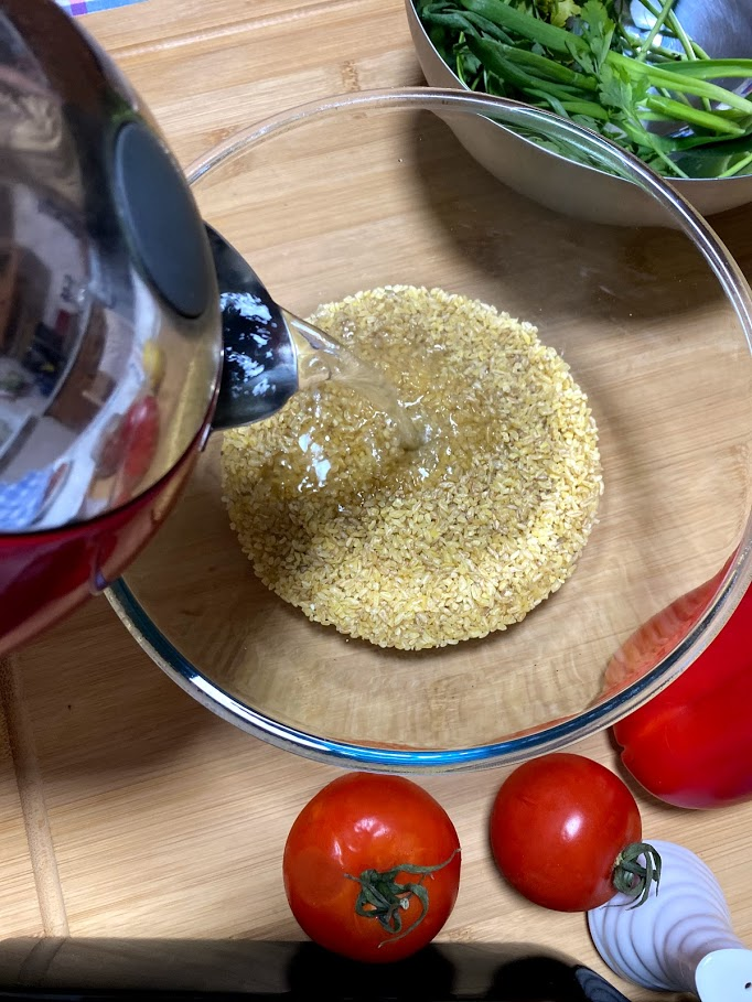 Фото рецепта - Табуле – восточный салат, закуска - шаг 2
