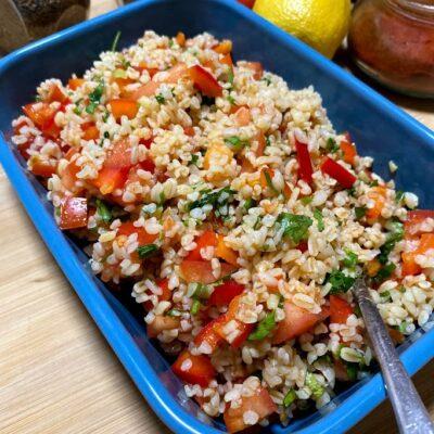Табуле – восточный салат, закуска - рецепт с фото