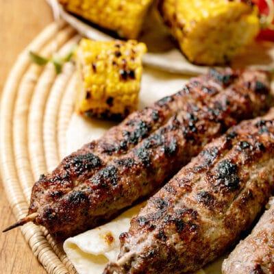 Люля-кебаб на гриле - рецепт с фото